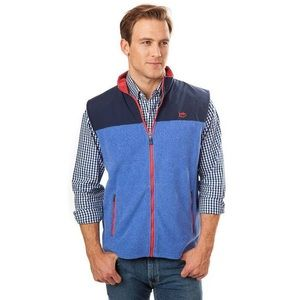 Southern Tide men's Cambridge fleece vest sz XL